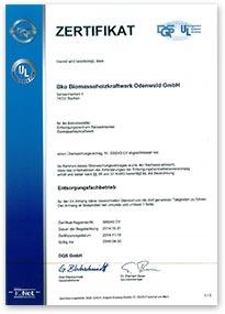 Zertifikat-BKO